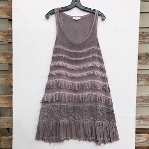 COPY - Anthropologie Distressed Tank Dress Size M…